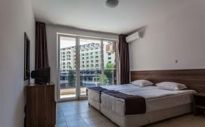 slaapkamer met bedden