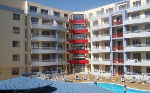 Appartementen Central Plaza Sunny Beach