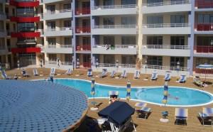 zwembad van het central plaza
