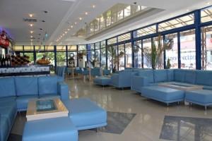 lobby in het hotel