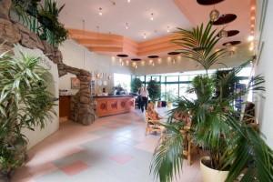 lobby van het hotel